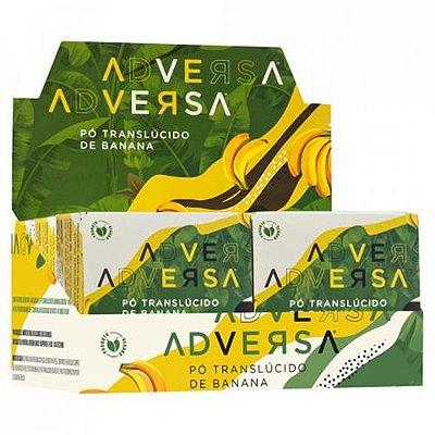 Pó Translúcido de Banana Vegano Adversa AD107 – Box c/ 06 unid