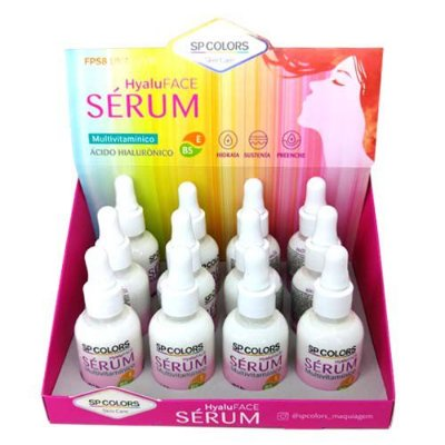 Sérum Multivitamínico Hyaluface SP Colors SPN005 – Box c/ 12 unid