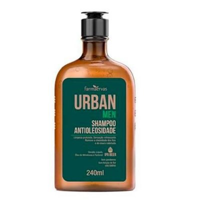 Shampoo Antioleosidade Urban Men IPA Farmaervas
