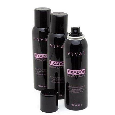 Fixador de Maquiagem Vivai 5027.1.1 - Kit c/ 03 unid