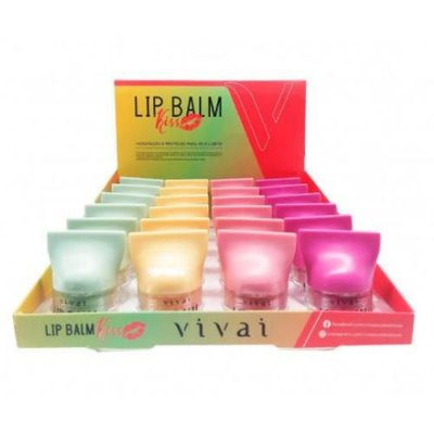 Lip Balm Kiss Vivai 3087.1.1 – Box c/ 24 unid