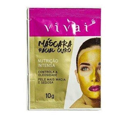 Máscara Facial Ouro Nutrição Intensa Vivai 5031.6.1 – Box c/ 24 unid
