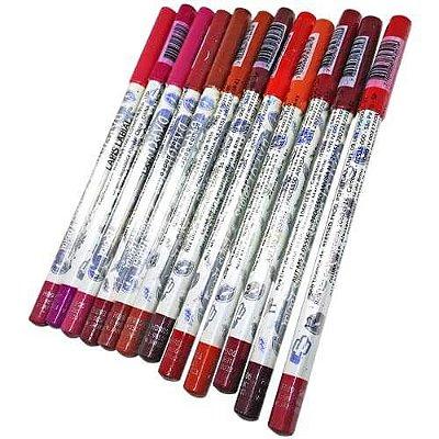Lápis Labial Dapop Colors HB98506 – Kit c/ 12 unid