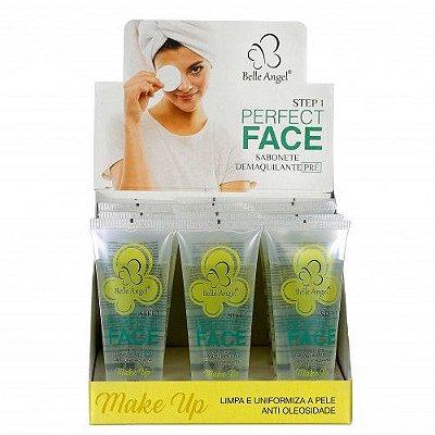 Sabonete Demaquilante Pré Perfect Face Belle Angel I002 – Box c/ 12 unid