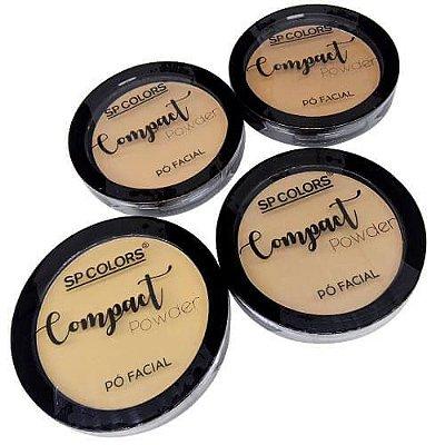 Pó Compacto Powder SP Colors SP013 – Kit c/ 04 unid