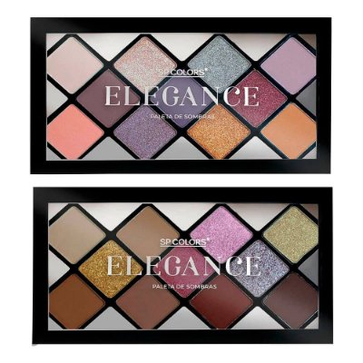 Paleta de Sombras Elegance SP Colors SP143