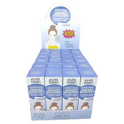 Sérum Facial Hidratante Revitalizante Super Poderes SHSP01 – Box c/ 24 unid