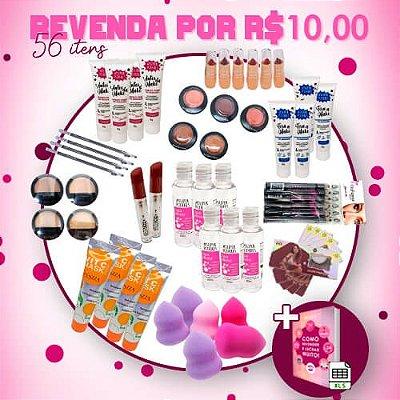 Revenda por R$10,00 - 56 Itens