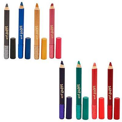 Lápis Sombra Glitter Dapop Pride HB98507 – Kit c/ 08 unid
