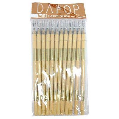 Lápis de Olho Nude com Apontador Dapop HB100142 – Pcte c/ 12 unid