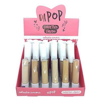 Corretivo Líquido Dapop Coleção Amora DP2096 – Box c/ 24 unid