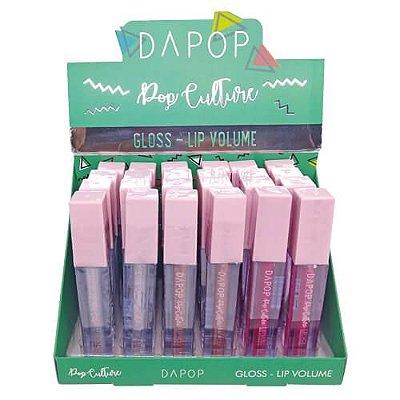Gloss Lip Volume Dapop Pop Culture DP2033 – Box c/ 24 unid