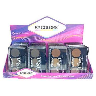 Sombra para Sobrancelha Color My Brows SP Colors SP005 – Box c/ 24 unid