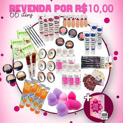 Revenda por R$10,00 - 66 Itens