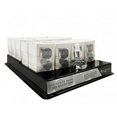 Sérum Facial Beads Carvão Ativado Max Love - Box c/ 20 unid