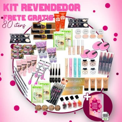 Kit Revendedor Frete Grátis - 80 Itens