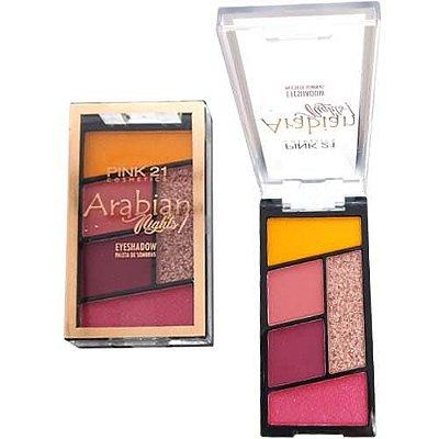 Paleta de Sombras Arabian Nights Pink 21 Cosmetics CS2778