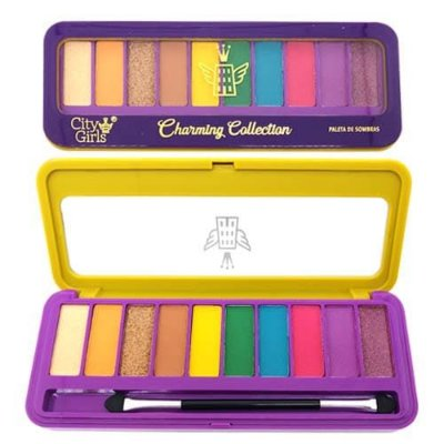 Paleta de Sombras Charming Collection City Girls CG205
