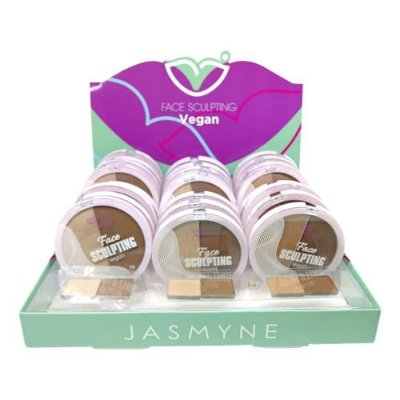 Corretivo Face Sculpting Vegan Jasmyne JS08012 - Box c/ 24 unid