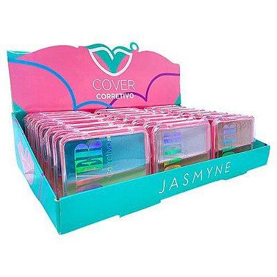 Paleta de Corretivo Cover Jasmyne JS06036 - Box c/ 24 unid
