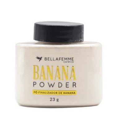 Pó Finalizador de Banana Power Bella Femme BF10090