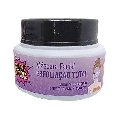 Máscara Facial Esfoliação Total Super Poderes ESTSP01