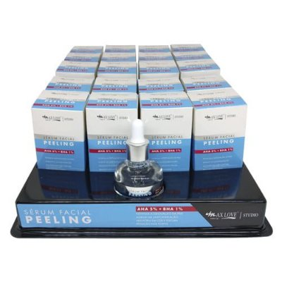 Sérum Facial Peeling Max Love - Box c/ 20 unid