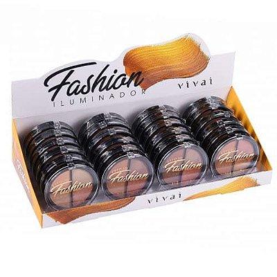 Iluminador Fashion 04 Cores Vivai 4036 – Box c/ 24 unid