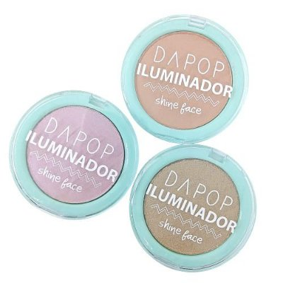 Iluminador Shine Face Dapop DP2128 – Kit c/ 03 unid