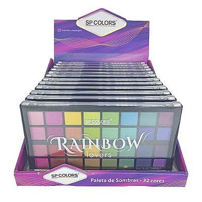 Paleta de Sombras Raibow Lovers SP Colors SP186– Box c/ 12 unid