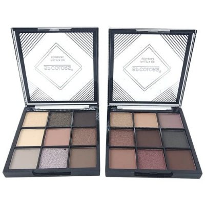 Paleta de Sombras 09 cores SP Colors SP022