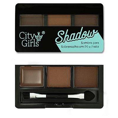 Sombra para Sobrancelha em Pó e Pasta Shadow City Girls CG170
