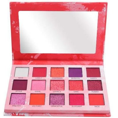 Paleta de Sombras Spotlight Eyeshadow Red Luisance L2037