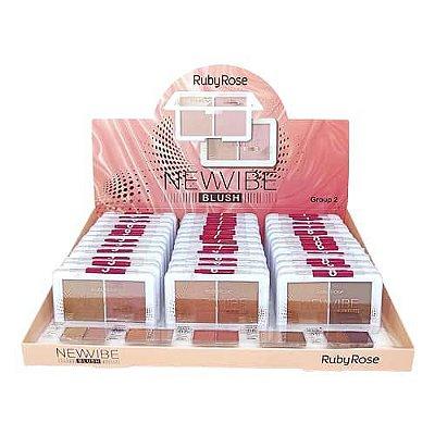 Blush New Vibe Ruby Rose HB-6114 - Box c/ 36 unid