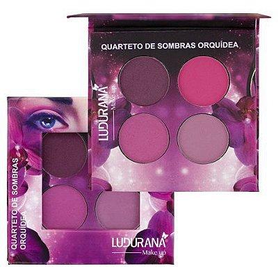 Quarteto de Sombras Orquídea Ludurana B00025