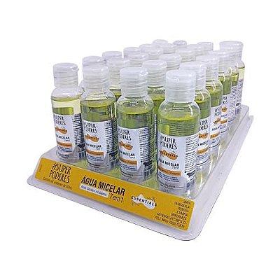 Água Micelar Ácido Glicólico e Colágeno Essentials Super Poderes AAGC01 – Box c/ 24 unid