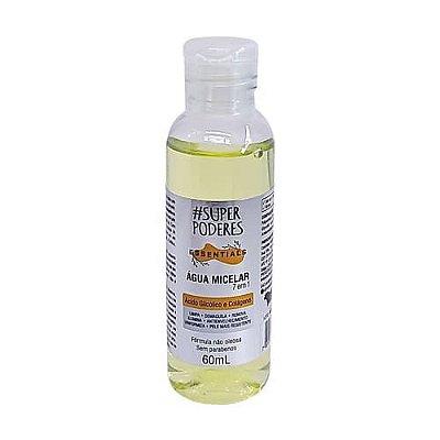 Água Micelar Ácido Glicólico e Colágeno Essentials Super Poderes AAGC01
