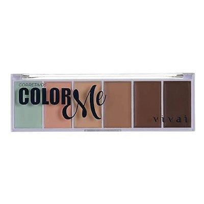Paleta de Corretivo Color Me Vivai 4032.1.8