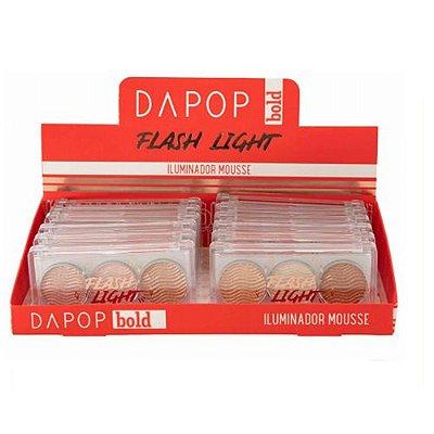 Iluminador Mousse Flash Light Dapop HB98183 - Box c/ 12 unid
