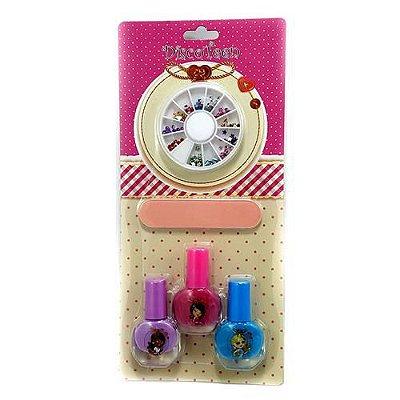 Kit Manicure Infantil Disco Teen HB94737