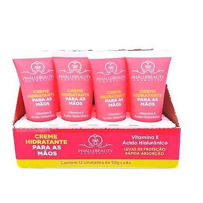 Creme Hidratante para as Mãos Phállebeauty PH0022 - Box c/ 12 unid