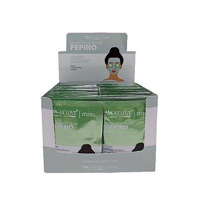 Máscara Facial Peel Off Pepino Max Love - Box c/ 60 unid