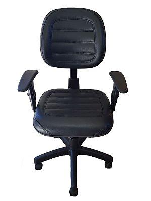 Cadeira de escritório Digitador com base giratória backsystem