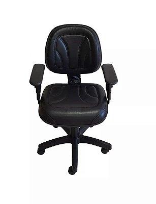 Cadeira de escritório Digitador com base giratória secretária