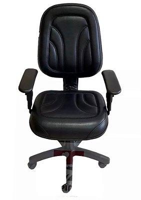 Cadeira de escritório Digitador 650 com base giratória