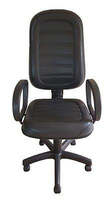 Cadeira de escritório Presidente com base giratória preta