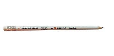 Lápis I ❤️ Uke #todomundopode (com borracha)
