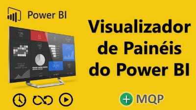 Visualizador de Painéis do Power BI