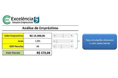 Planilha de Análise de Empréstimo / Financiamento Grátis