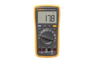 Multímetro Digital com Temperatura, Cat III 17b+